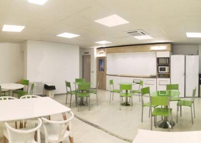 Modernización del comedor de Europa Press en Madrid